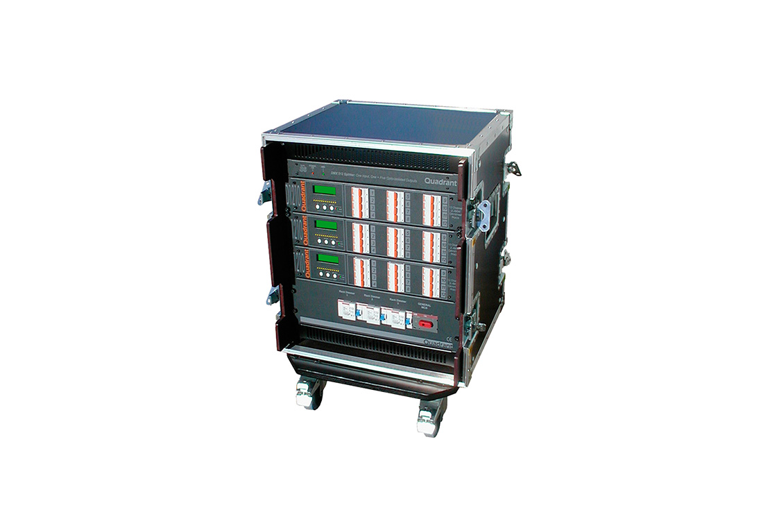 dimmers em flight case - dr2410 | dr3610 | dr4810