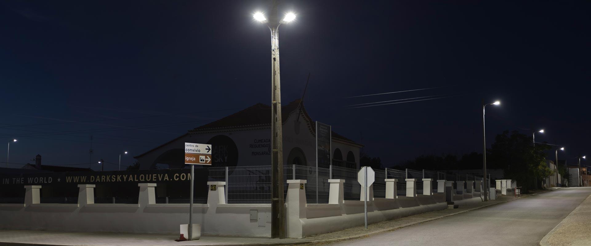 Iluminação Pública LED - Dark Sky, Alqueva
