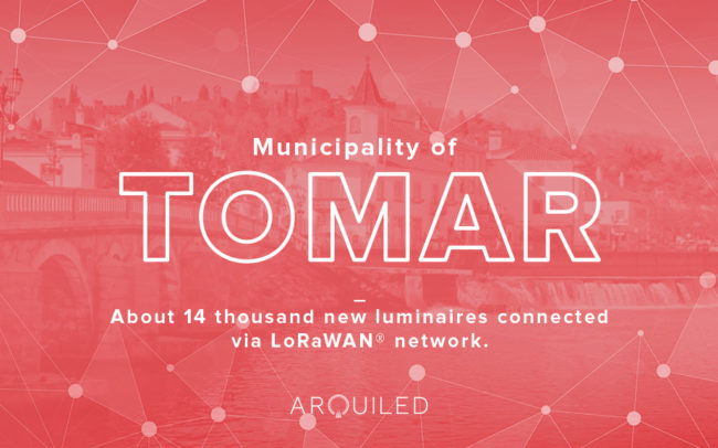 Arquiled LoRa project, Tomar