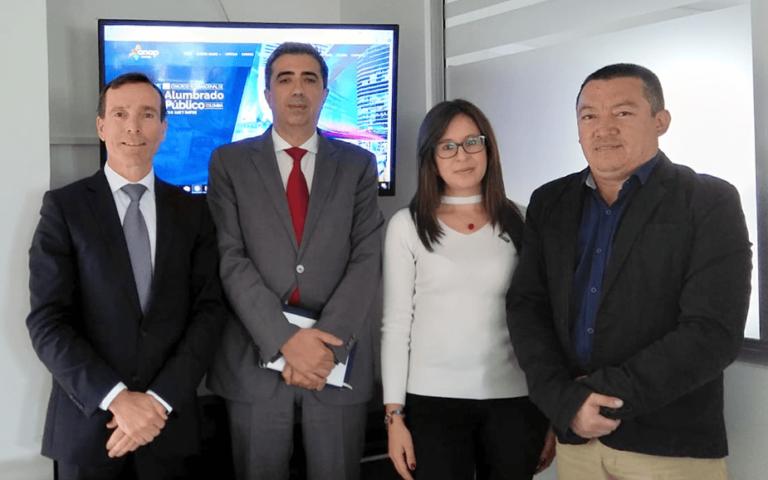 Reunión con Asociación Nacional de Alumbrado Público - Bogotá, 2018