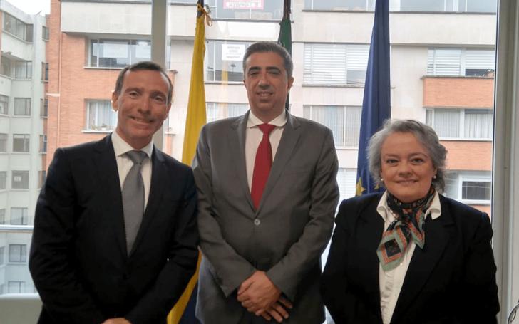 Arquiled con Embajadora de Portugal en Colômbia - Bogotá, 2018