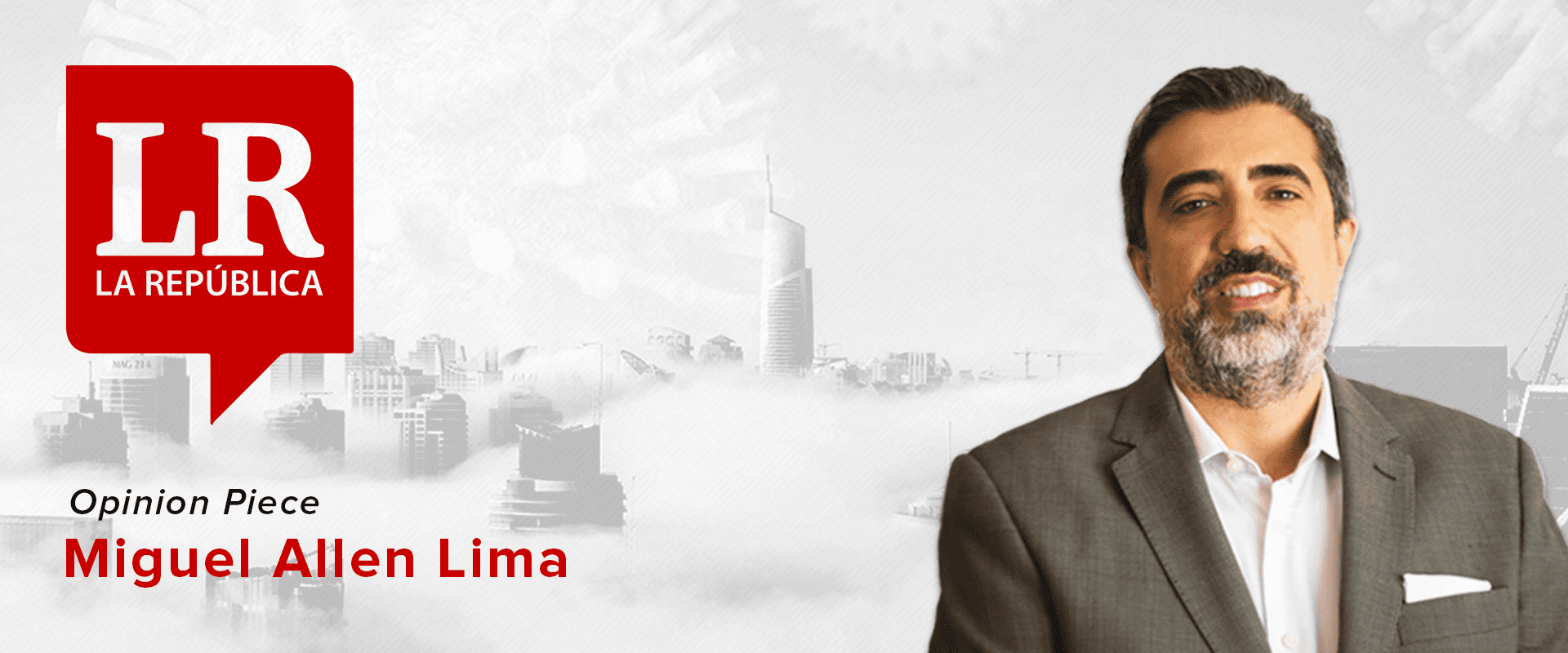 How Smart Cities can help in a pandemic situation - Miguel Allen Lima, La Republica