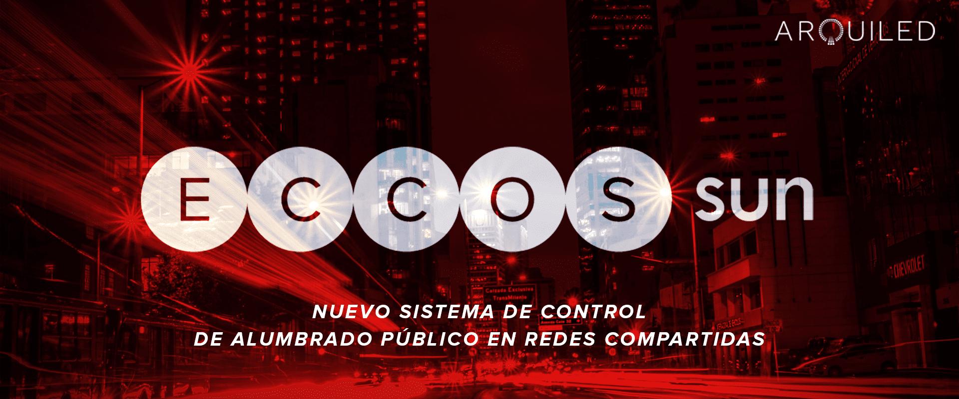 ECCOS SUN - sistema de control de alumbrado público en redes compartidas