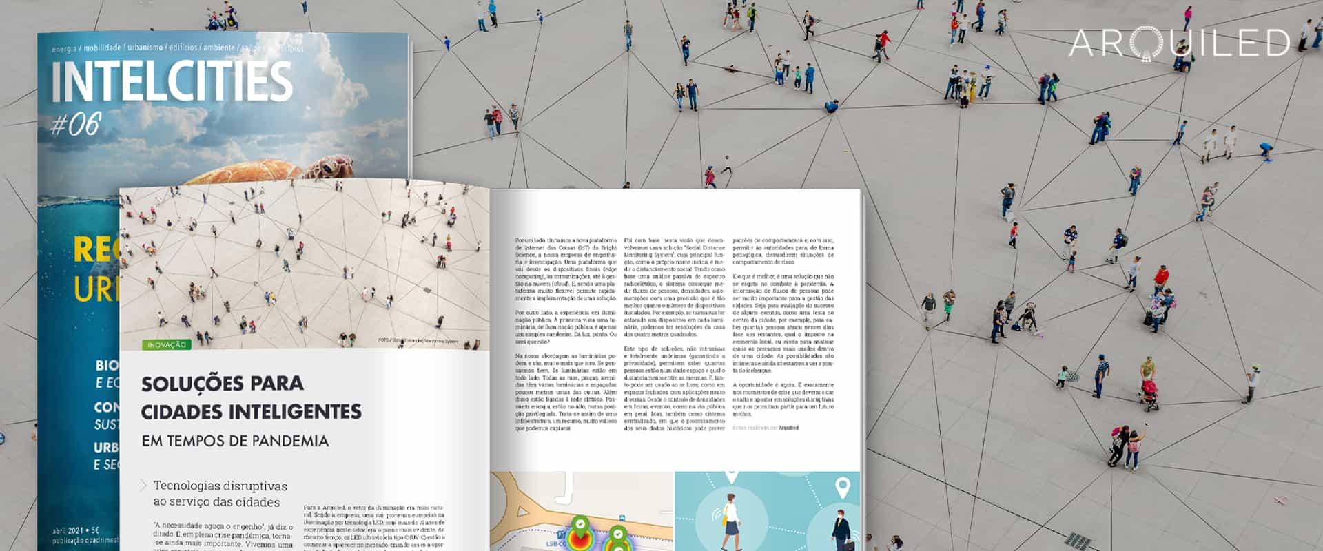 """Arquiled na IntelCities: """"Soluções para Cidades Inteligentes"""""""