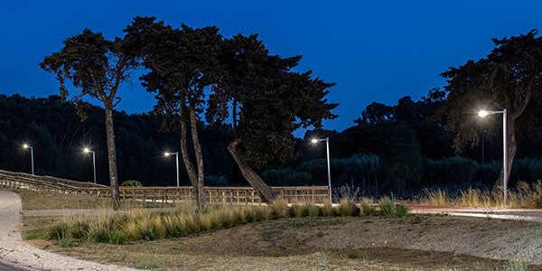 Arquiled Iluminação Pública LED - Projeto - Parque Urbano Outeiro da Vela - Carcavelos